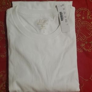NWT J.Crew MENS Large L/S Cotton Tshirt